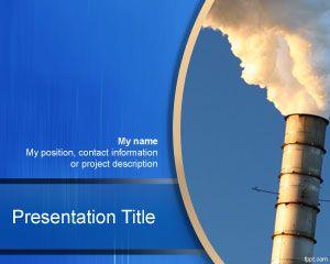 Plantilla de PowerPoint gratis para la industria