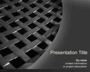 Plantilla de PowerPoint de Pasteles de Metal Gratis