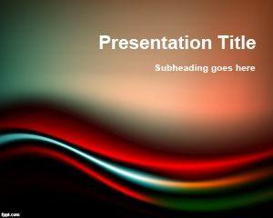 Plantilla de PowerPoint Gratis en Negro y Rojo