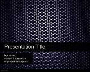 Plantilla de PowerPoint de Altavoz Gratuita