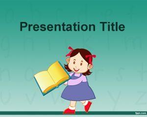Plantilla gratuita de Aprender a leer en powerpoint