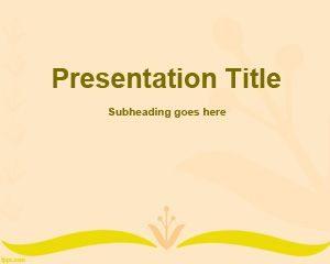 Plantilla PowerPoint de trenzado gratis