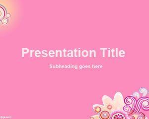 Fondo de rosas gratis para PowerPoint