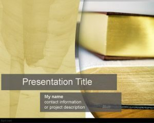 Plantilla de PowerPoint Novel gratuita