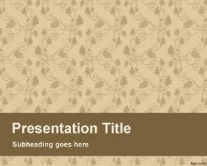 Plantilla de PowerPoint de Fresh page gratis