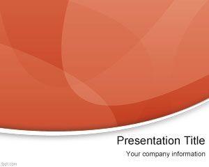 Plantilla de PowerPoint Moderno Rojo Gratuito