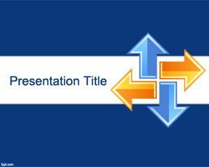 Plantilla PowerPoint de aprendizaje en línea gratis