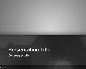 Plantilla de PowerPoint Clean Gray