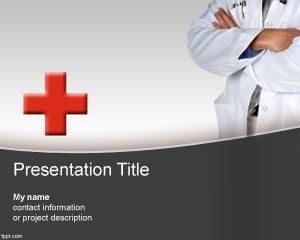 Historia clínica gratis Plantilla de PowerPoint