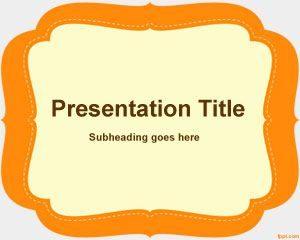 Plantilla de PowerPoint Elemental