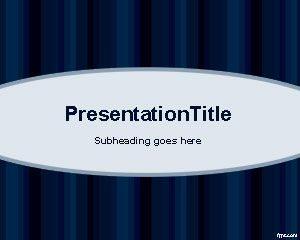 Plantilla PowerPoint Azul Básica