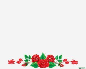 Coronas florales gratis Plantilla de PowerPoint