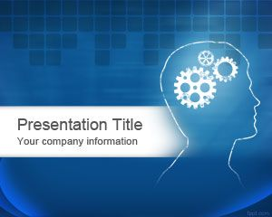 Plantilla PowerPoint Gratis de Brain PowerPoint