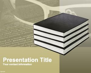 Plantilla de PowerPoint de Literatura Gratuita