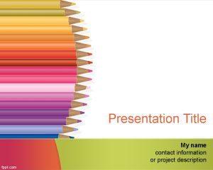 Plantilla de PowerPoint para Kindergarten Gratis