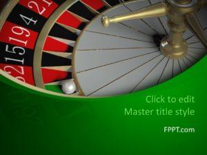 Plantilla de PowerPoint para Juegos de Azar Gratis