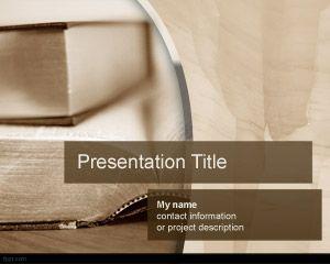 Libro gratuito PowerPoint Template