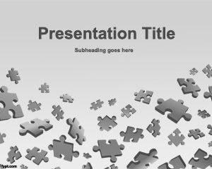 Juego de puzzles gratis Plantilla de PowerPoint