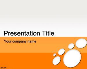 Plantilla de PowerPoint de Microsoft Office