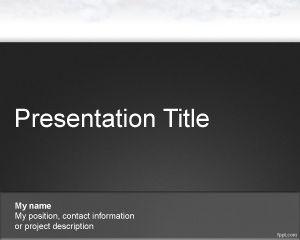 Plantilla de PowerPoint de Air