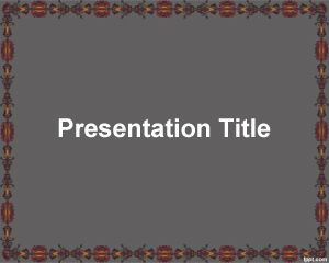 Atractivo fondo para PowerPoint