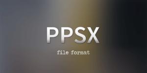 ¿Qué es un archivo ppsx?