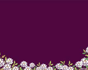Plantilla de PowerPoint Violeta Gratis