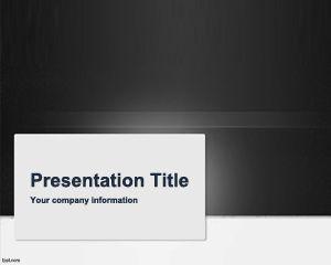 Plantilla de PowerPoint de Revisión Gris