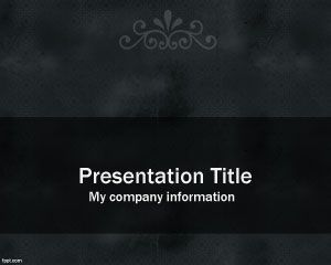 Plantilla de PowerPoint obsoleta