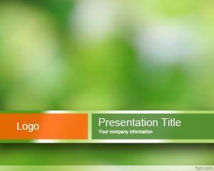 Plantilla de PowerPoint Sostenible