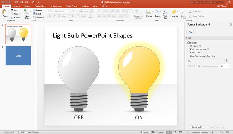 Cómo Dibujar una Bombilla en PowerPoint