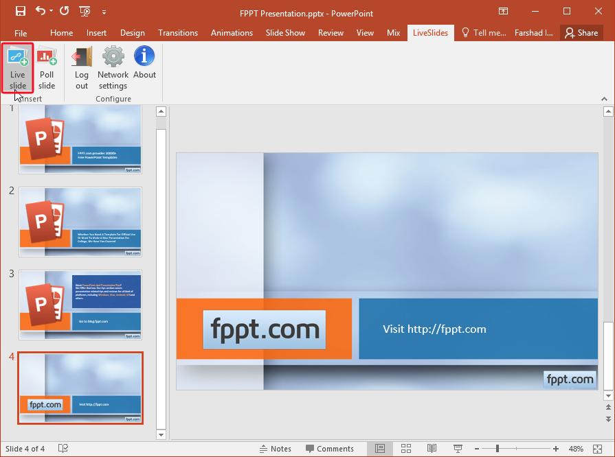 Cómo incrustar Prezi en PowerPoint