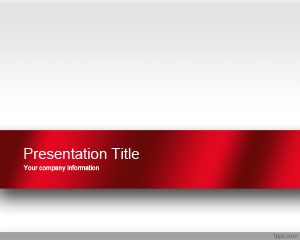 Plantilla de PowerPoint de Red Engage