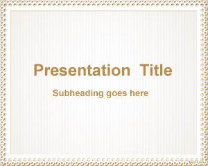 Diseño simple de PowerPoint