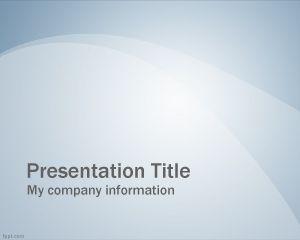 Diapositiva Profesional Azul PowerPoint