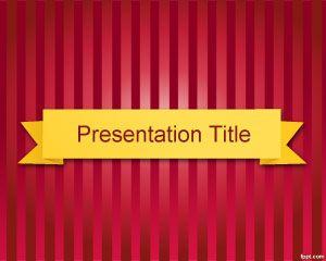 Plantilla de PowerPoint para Talk Show