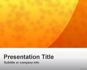 Lee más sobre el artículo Plantilla de PowerPoint para Negocios de Orange