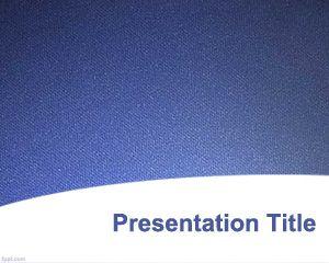 Plantilla de PowerPoint de textura azul