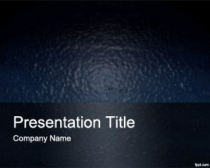Plantilla plástica de PowerPoint