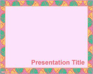 Plantilla PowerPoint Barroca