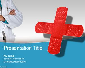 Plantilla PowerPoint de Centro Médico